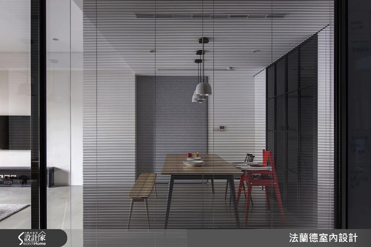 35坪新成屋(5年以下)_簡約風餐廳案例圖片_法蘭德室內設計_法蘭德_28之10