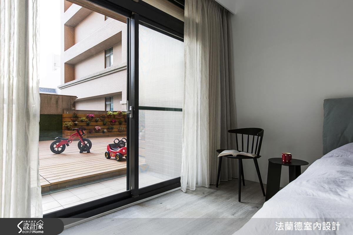 35坪新成屋(5年以下)_簡約風臥室案例圖片_法蘭德室內設計_法蘭德_28之12