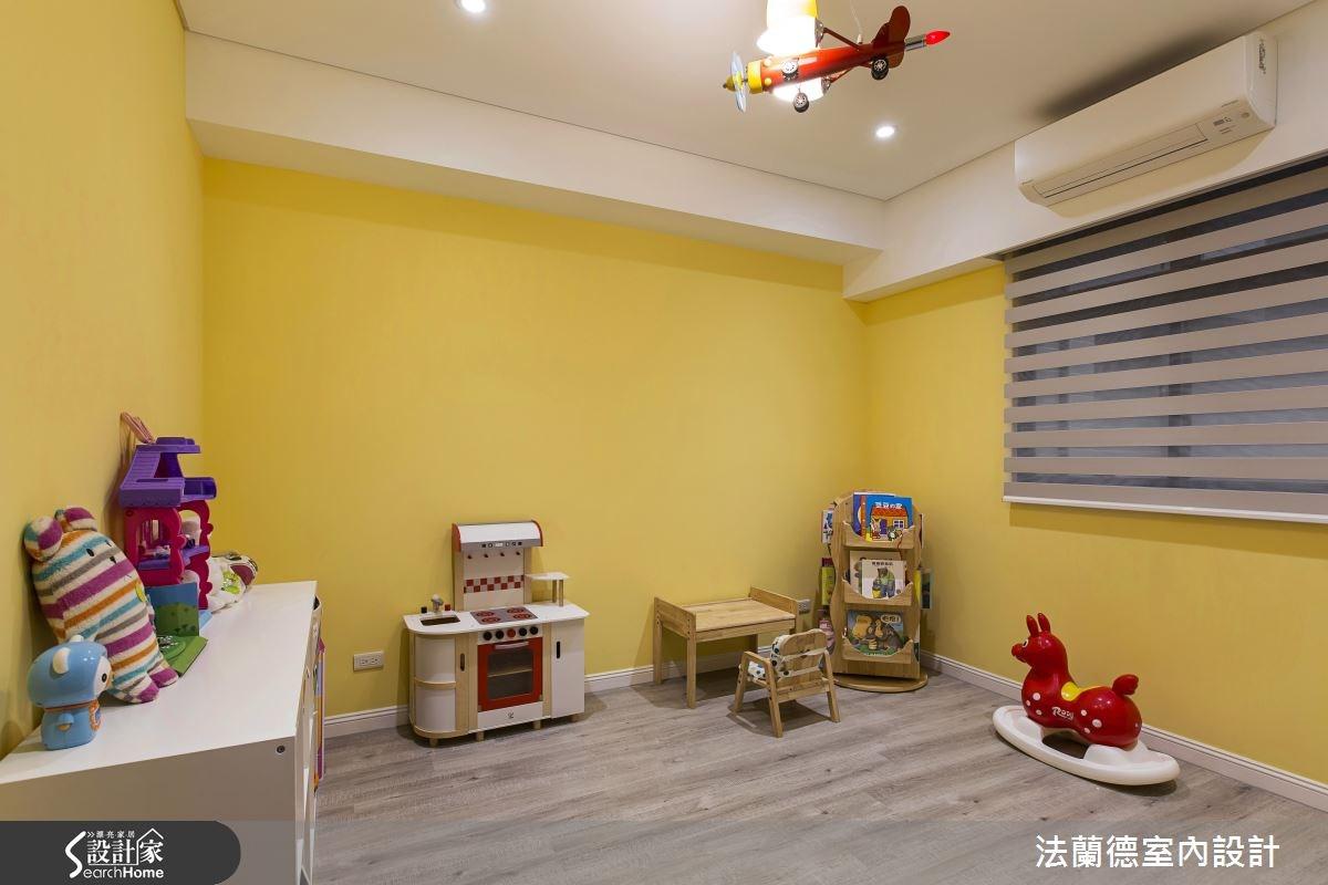 35坪新成屋(5年以下)_簡約風兒童房兒童房案例圖片_法蘭德室內設計_法蘭德_28之13