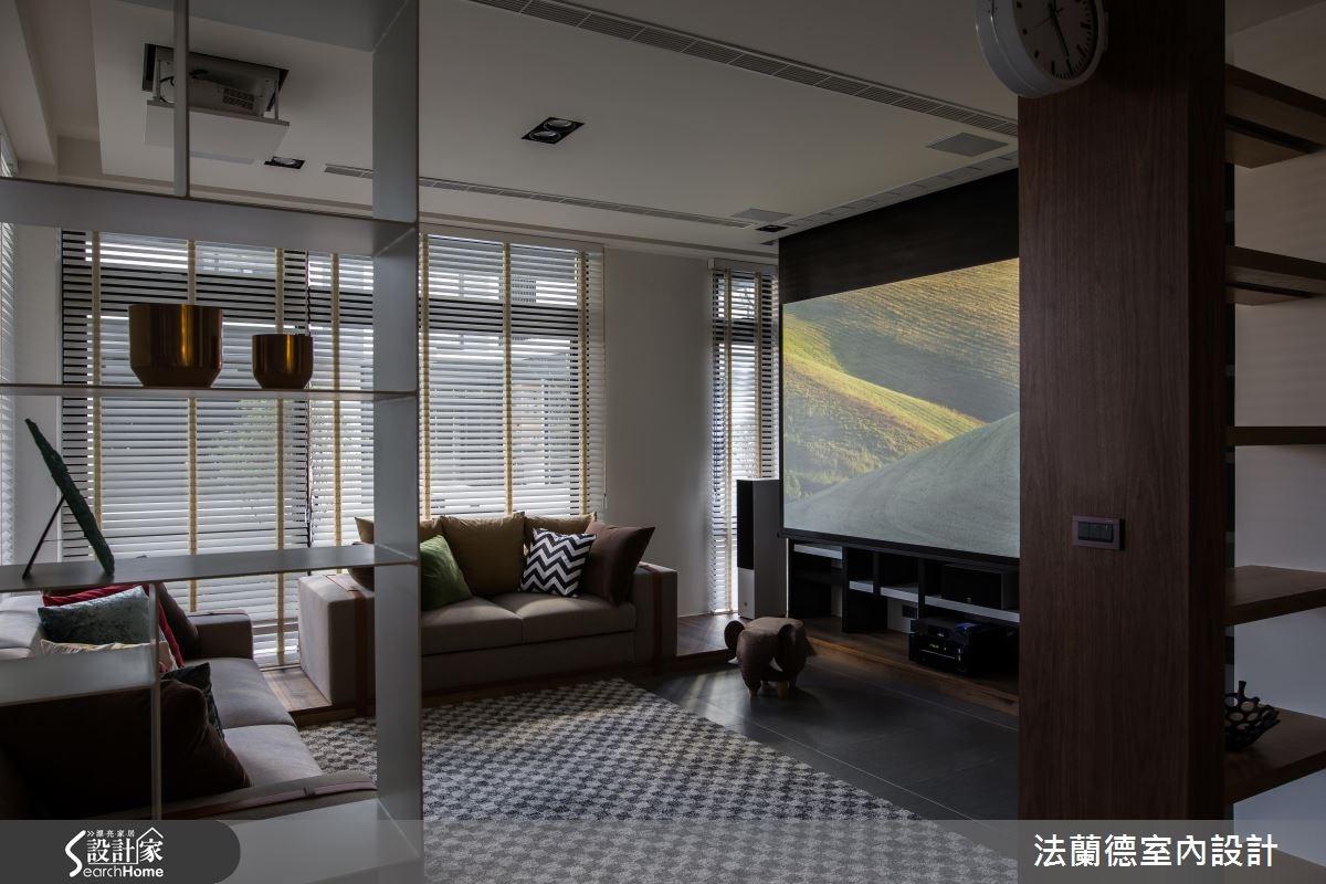 120坪新成屋(5年以下)_混搭風客廳案例圖片_法蘭德室內設計_法蘭德_29之2