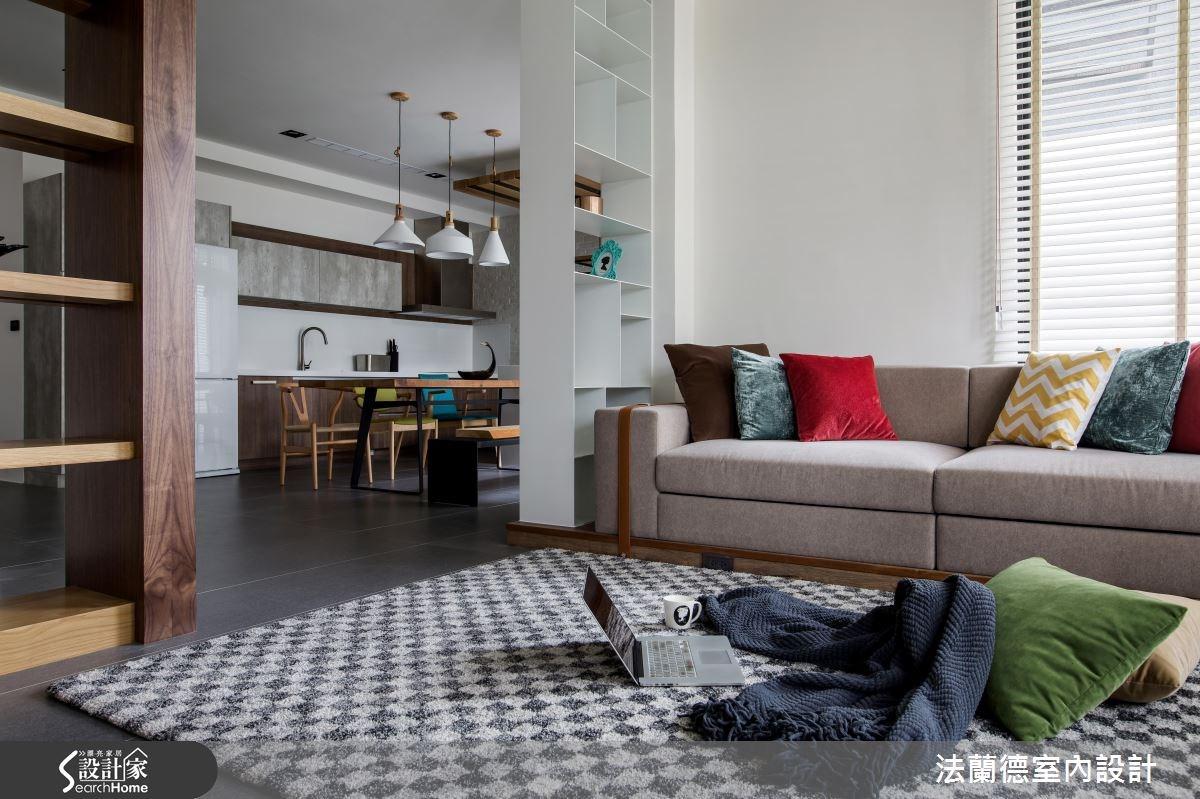 120坪新成屋(5年以下)_混搭風客廳案例圖片_法蘭德室內設計_法蘭德_29之5