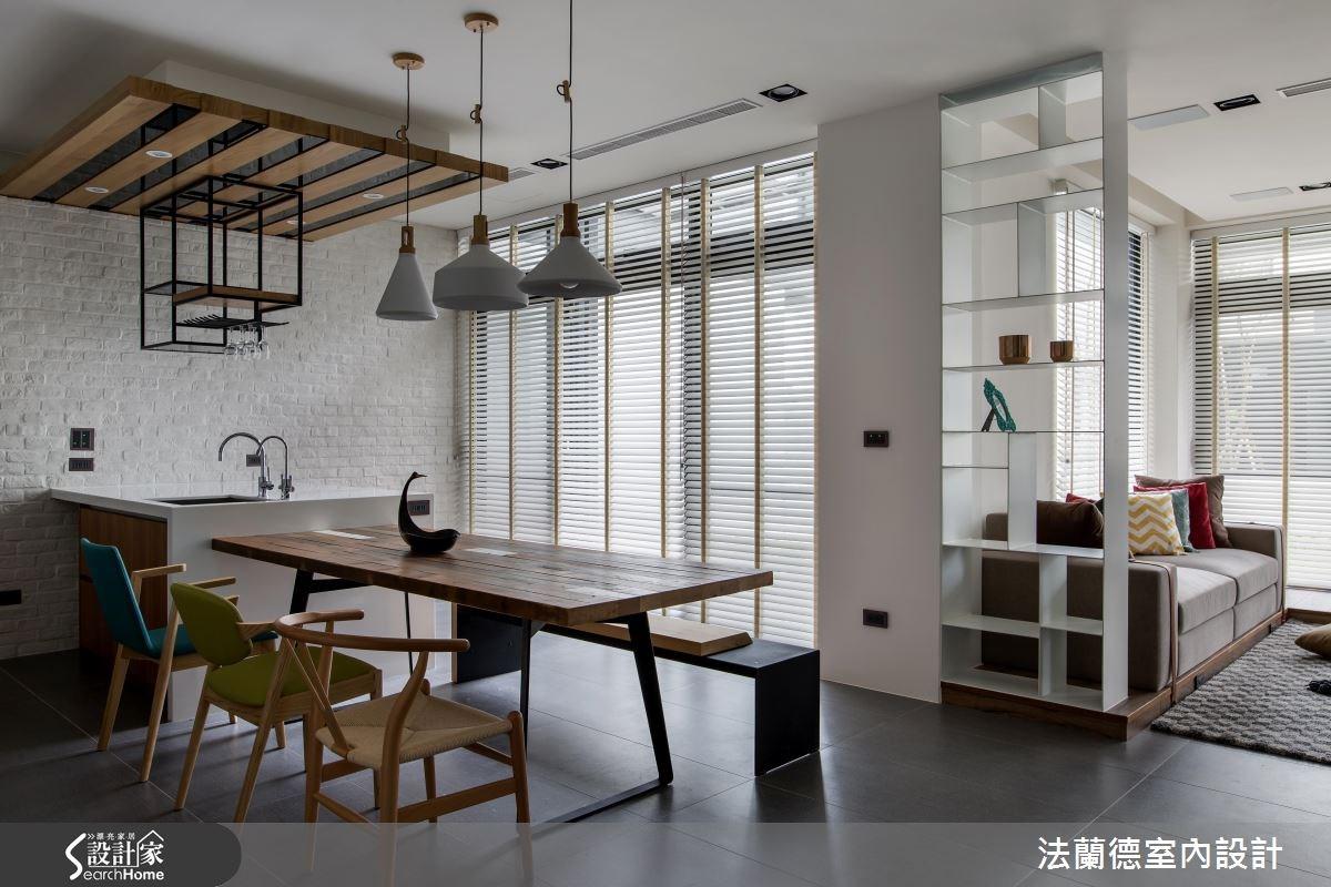 120坪新成屋(5年以下)_混搭風餐廳案例圖片_法蘭德室內設計_法蘭德_29之6