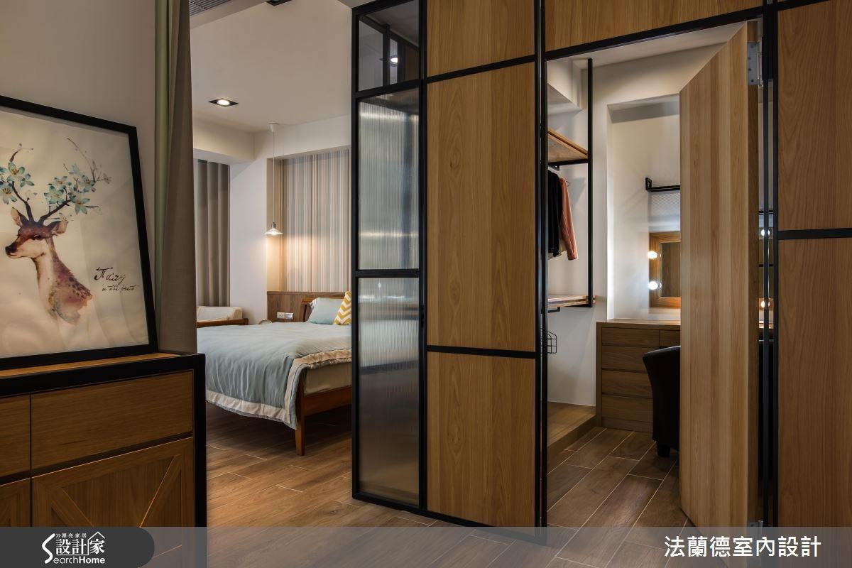 120坪新成屋(5年以下)_混搭風臥室更衣間案例圖片_法蘭德室內設計_法蘭德_29之10
