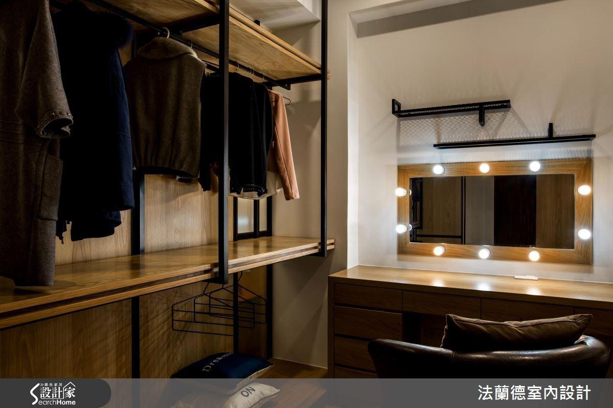 120坪新成屋(5年以下)_混搭風更衣間案例圖片_法蘭德室內設計_法蘭德_29之11