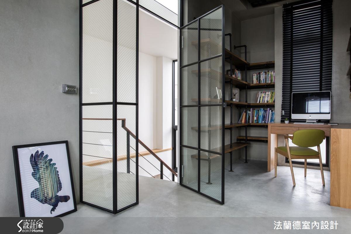 120坪新成屋(5年以下)_混搭風書房案例圖片_法蘭德室內設計_法蘭德_29之12