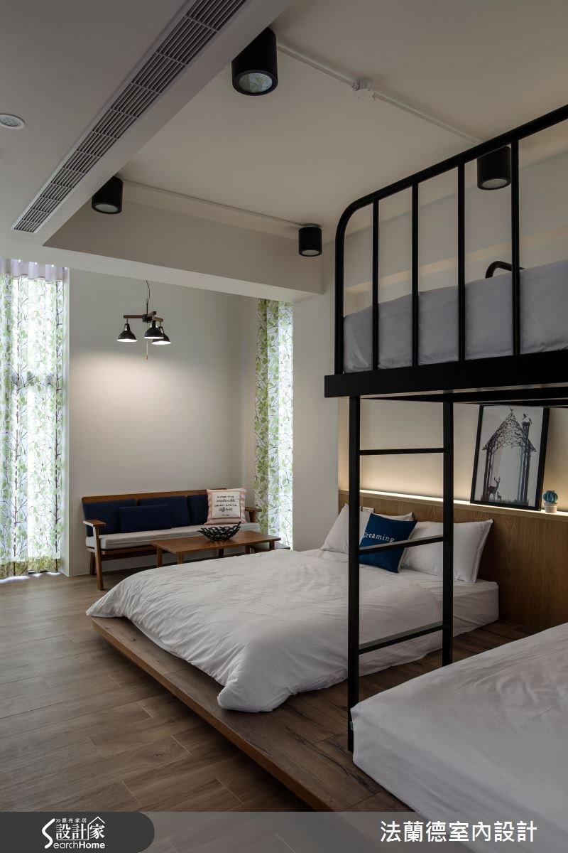120坪新成屋(5年以下)_混搭風臥室案例圖片_法蘭德室內設計_法蘭德_29之14