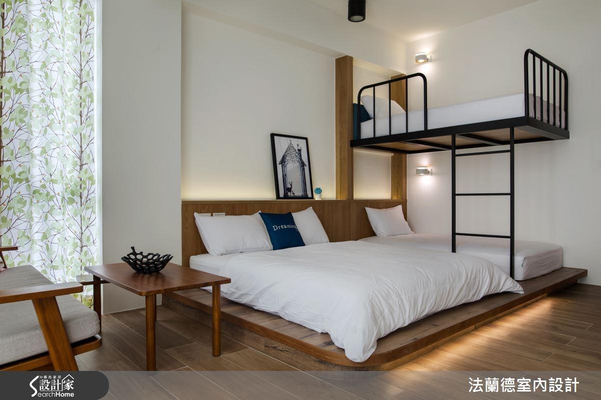 120坪新成屋(5年以下)_混搭風臥室案例圖片_法蘭德室內設計_法蘭德_29之15