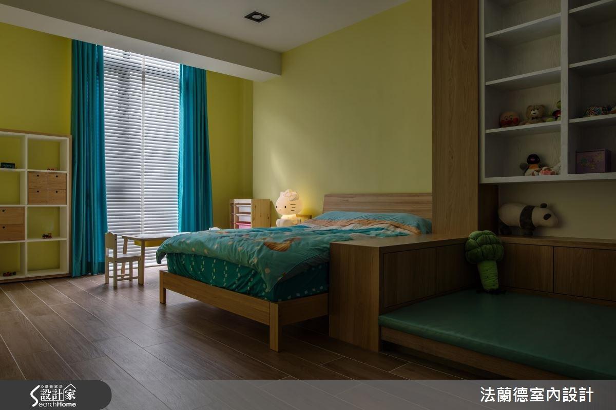 120坪新成屋(5年以下)_混搭風兒童房兒童房案例圖片_法蘭德室內設計_法蘭德_29之16