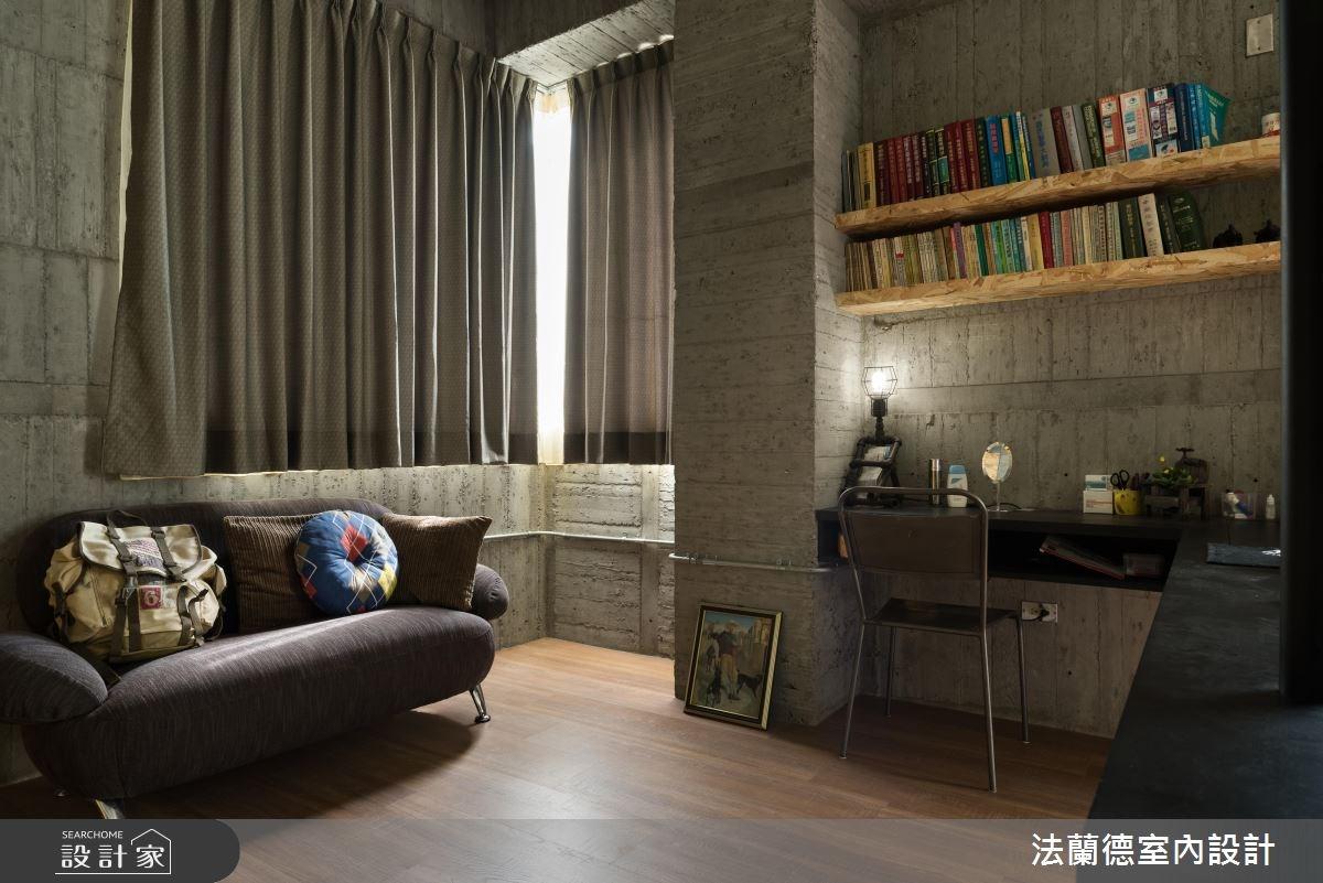 34坪新成屋(5年以下)_工業風臥室案例圖片_法蘭德室內設計_法蘭德_30之11
