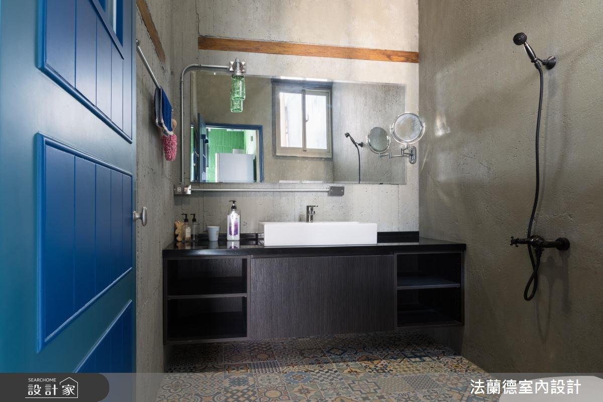 34坪新成屋(5年以下)_工業風浴室案例圖片_法蘭德室內設計_法蘭德_30之13