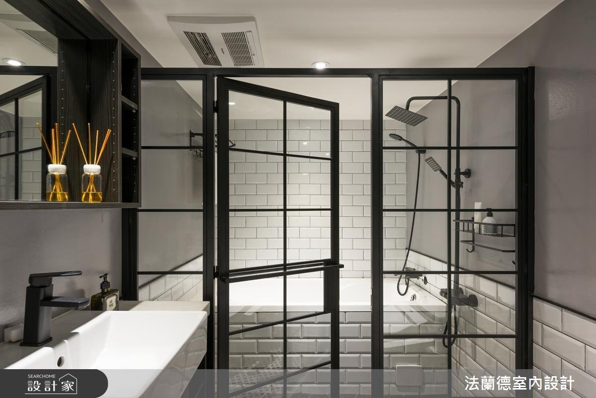 32坪老屋(16~30年)_工業風浴室案例圖片_法蘭德室內設計_法蘭德_31之31