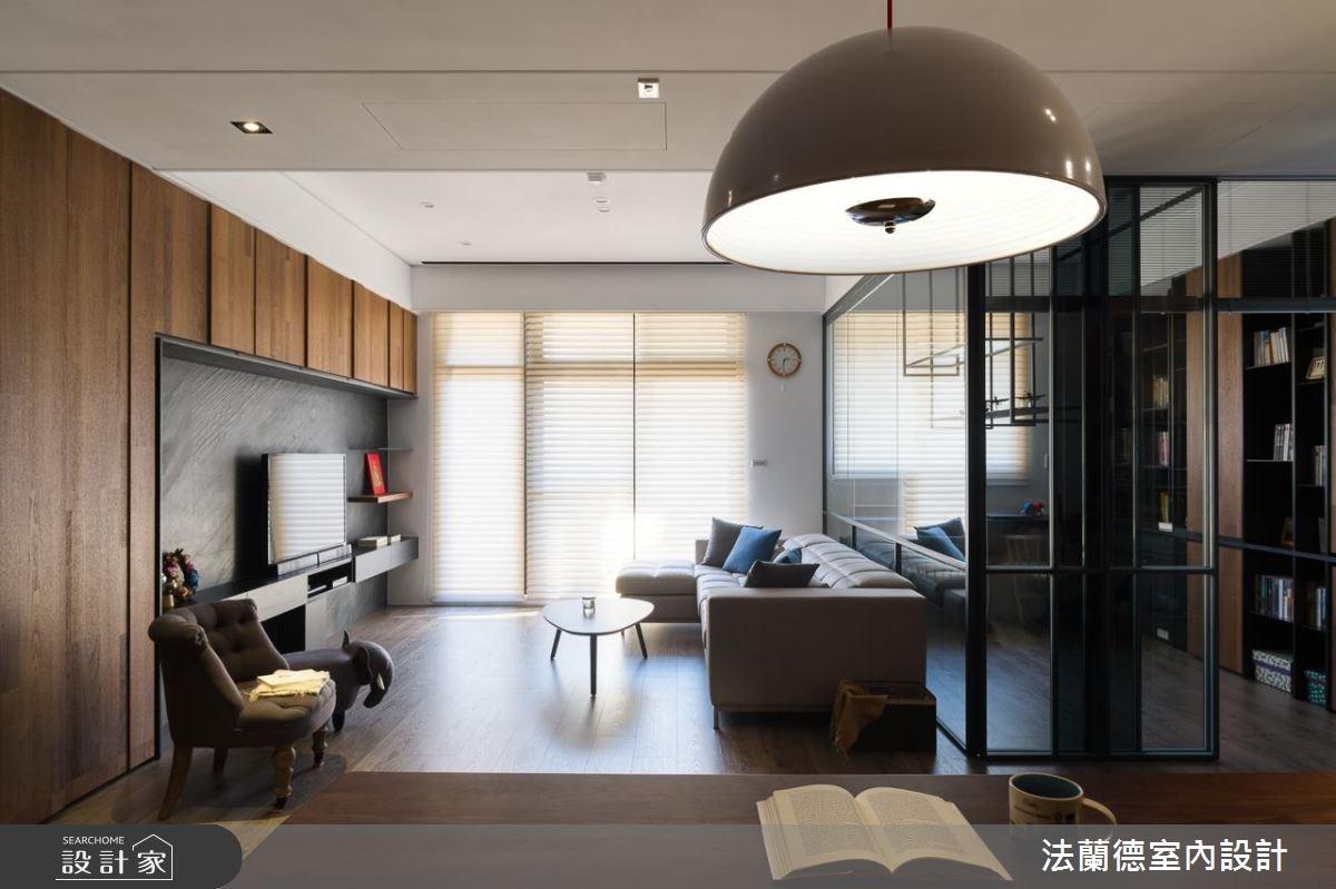 40坪_休閒風客廳案例圖片_法蘭德室內設計_法蘭德_32之2
