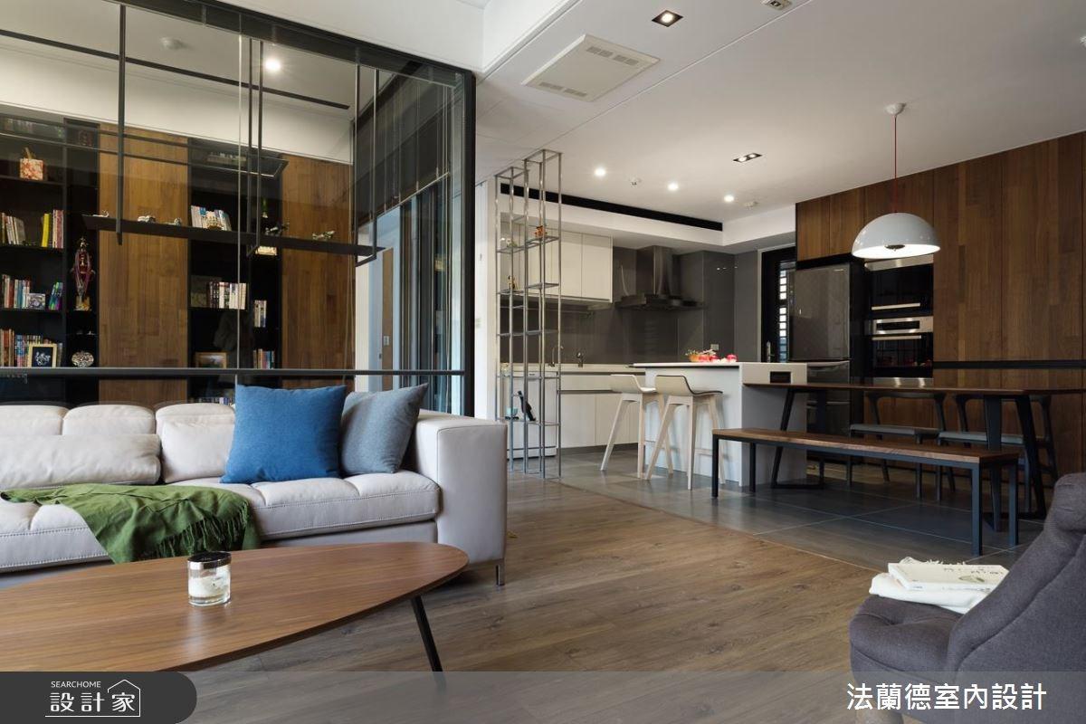 40坪_休閒風客廳案例圖片_法蘭德室內設計_法蘭德_32之6