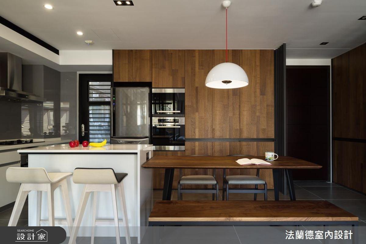 40坪_休閒風餐廳吧檯案例圖片_法蘭德室內設計_法蘭德_32之7