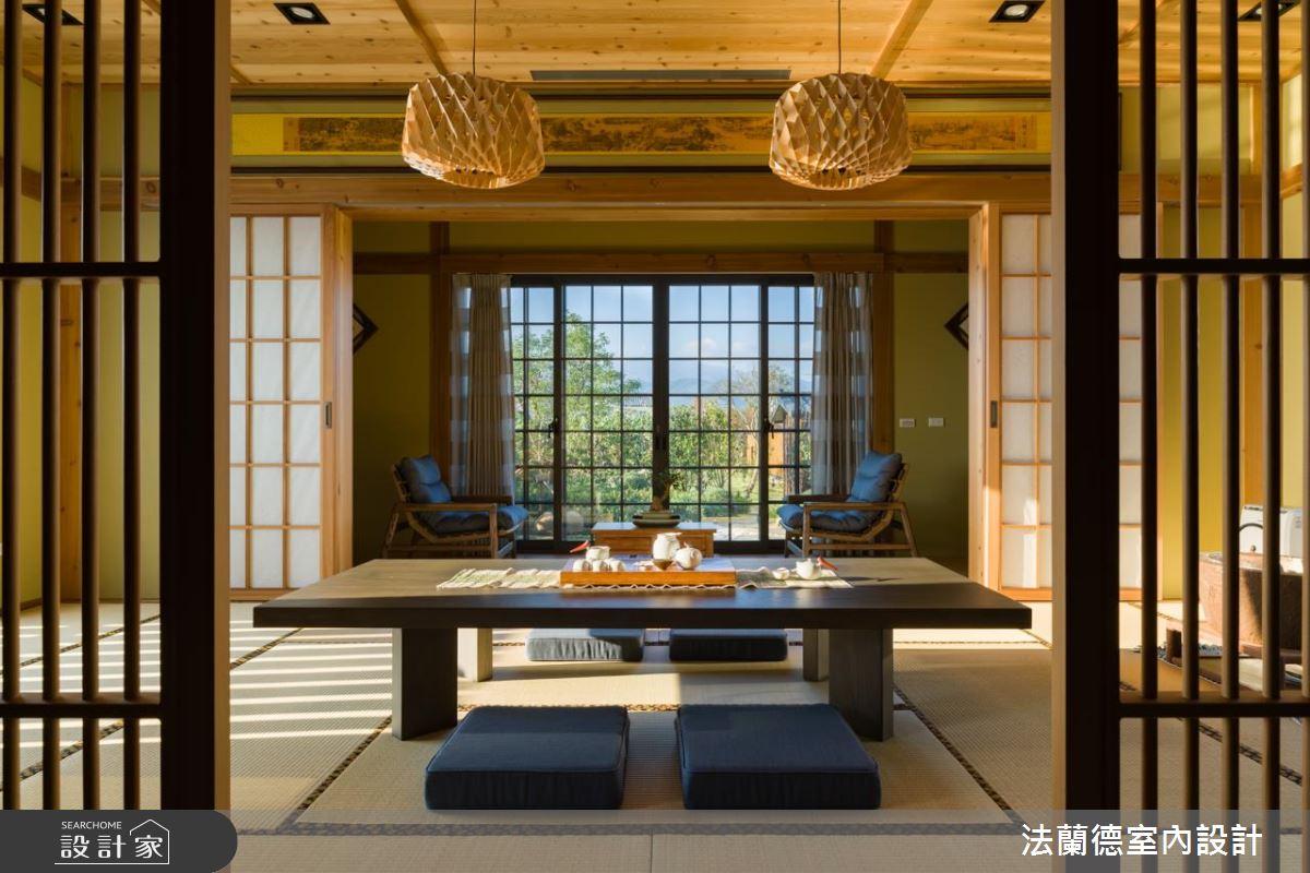 台灣版箱根風情!佇立在田中央的道地仙系日式別墅
