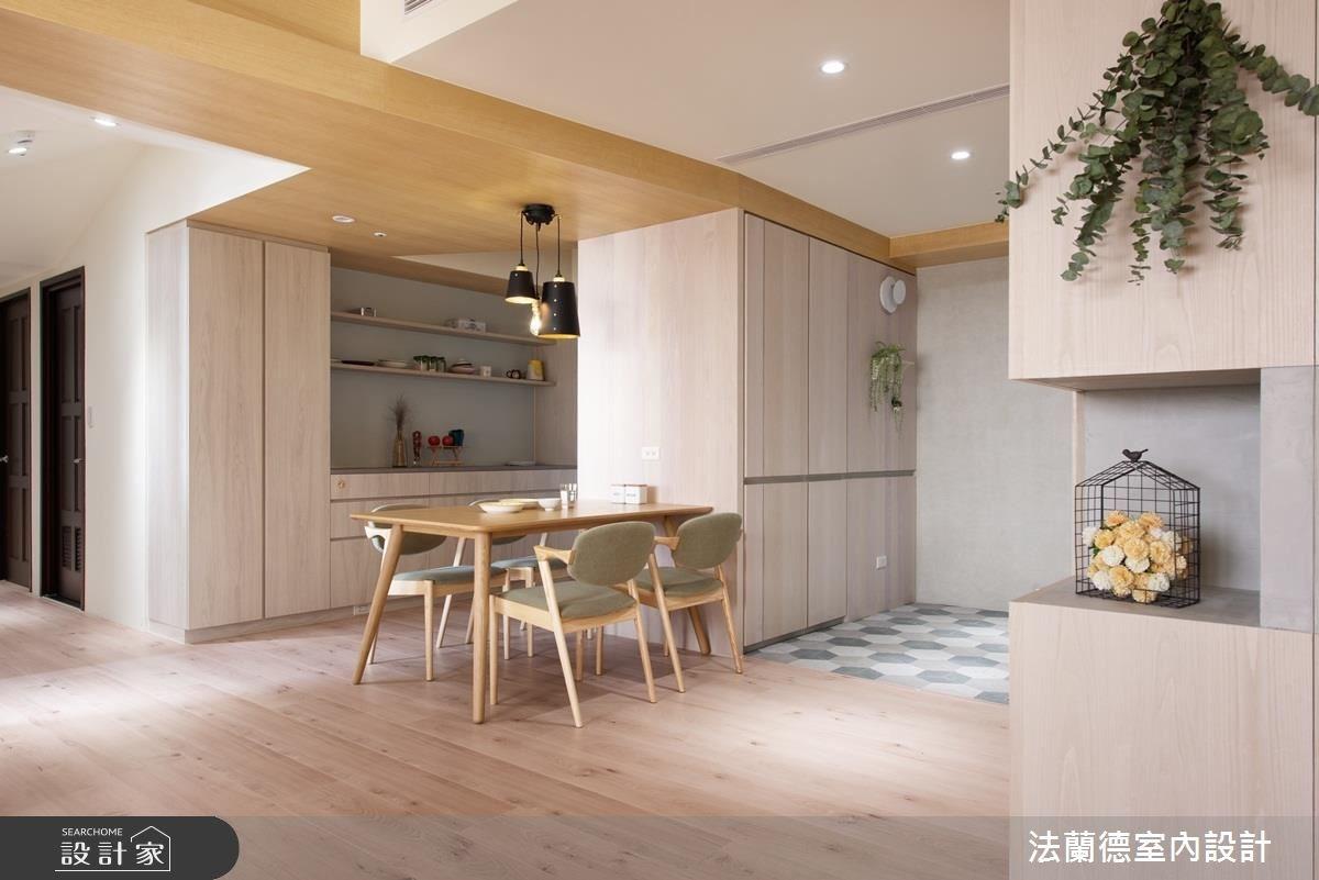 32坪新成屋(5年以下)_北歐風餐廳案例圖片_法蘭德室內設計_法蘭德_34之2