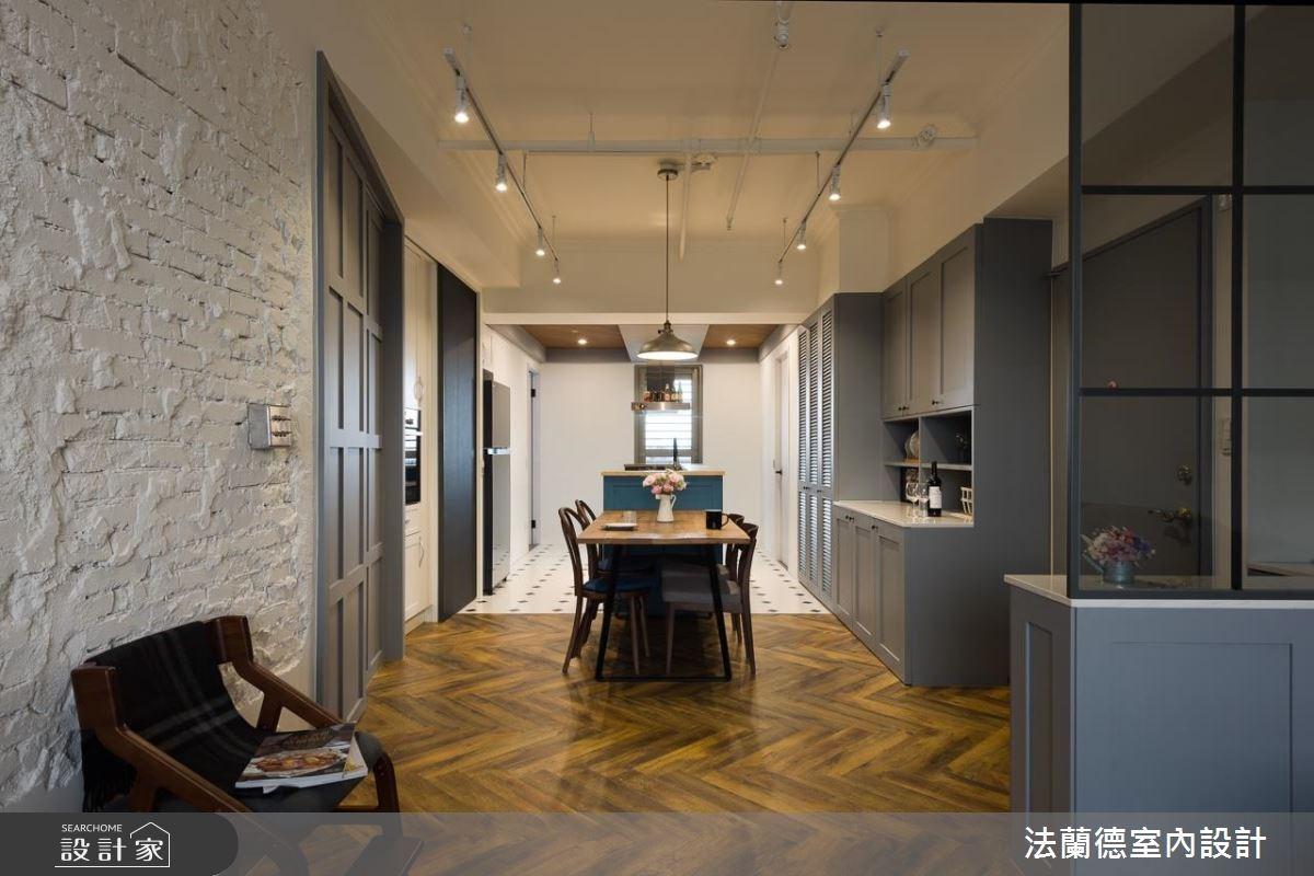 26坪中古屋(5~15年)_美式風餐廳案例圖片_法蘭德室內設計_法蘭德_36之4