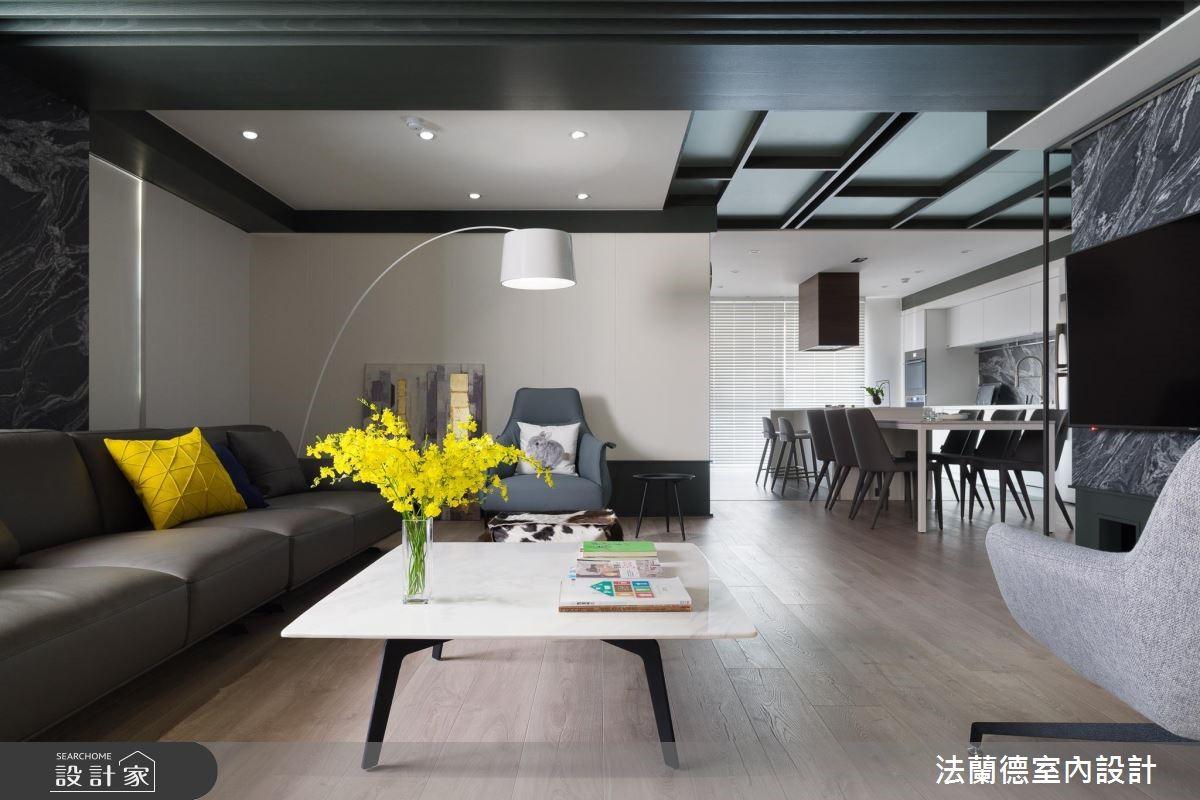 50坪老屋(16~30年)_混搭風客廳案例圖片_法蘭德室內設計_法蘭德_37之4