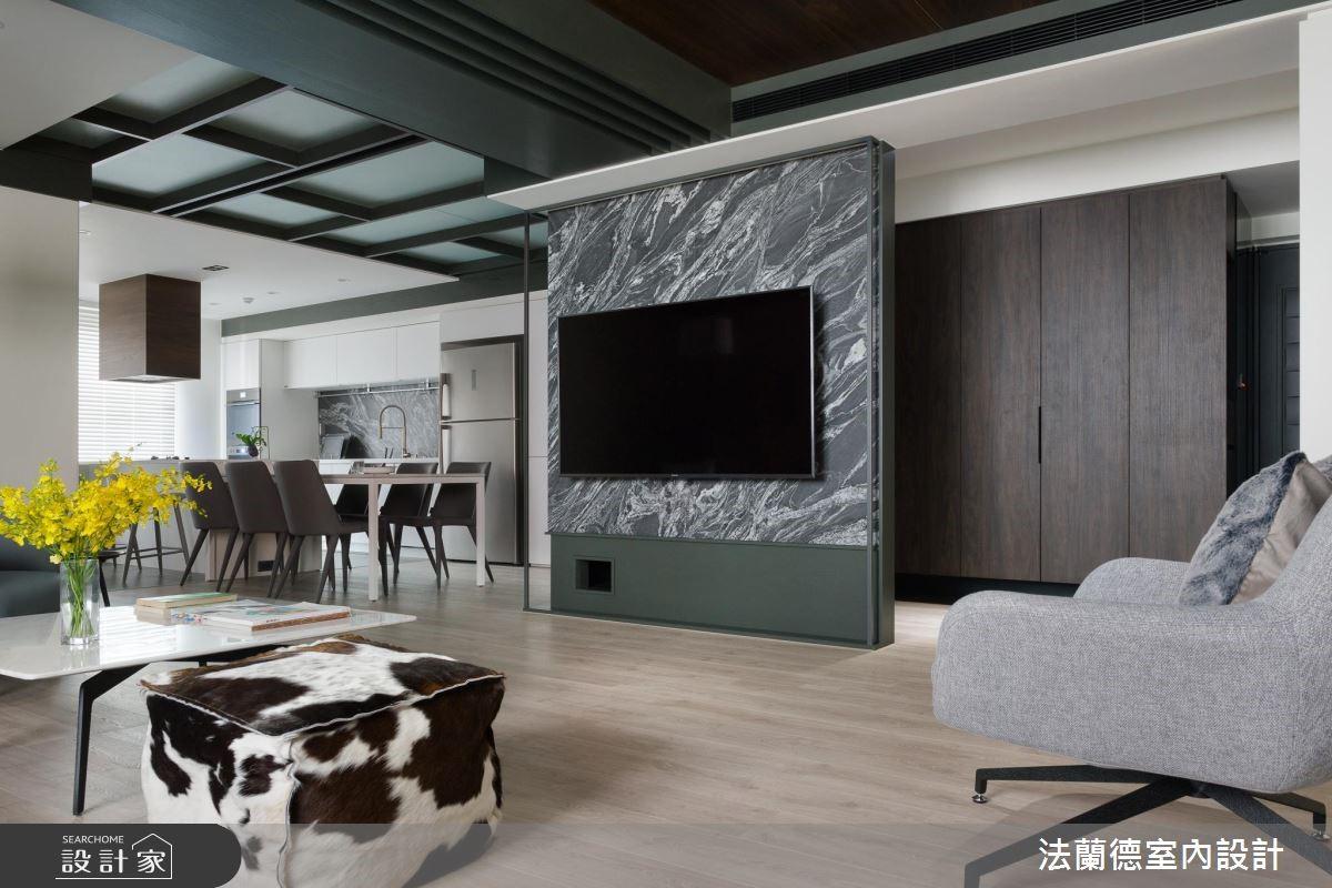 50坪老屋(16~30年)_混搭風客廳案例圖片_法蘭德室內設計_法蘭德_37之2