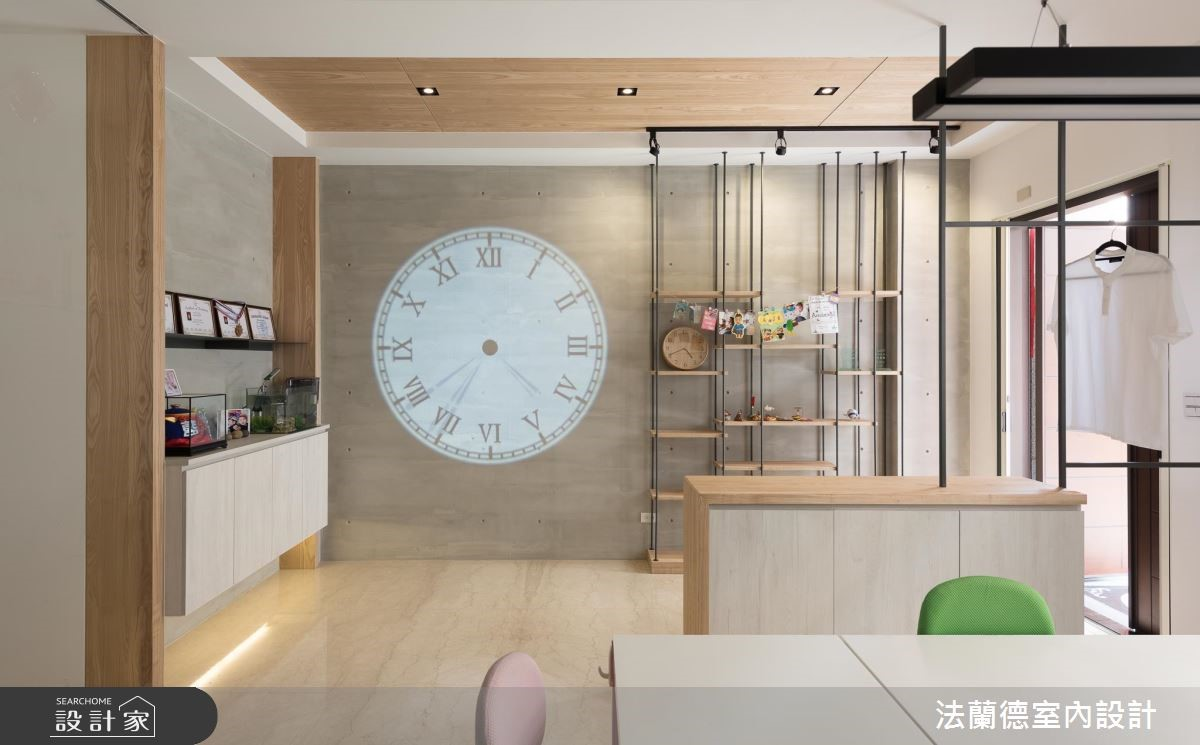 100坪新成屋(5年以下)_混搭風案例圖片_法蘭德室內設計_法蘭德_39之1
