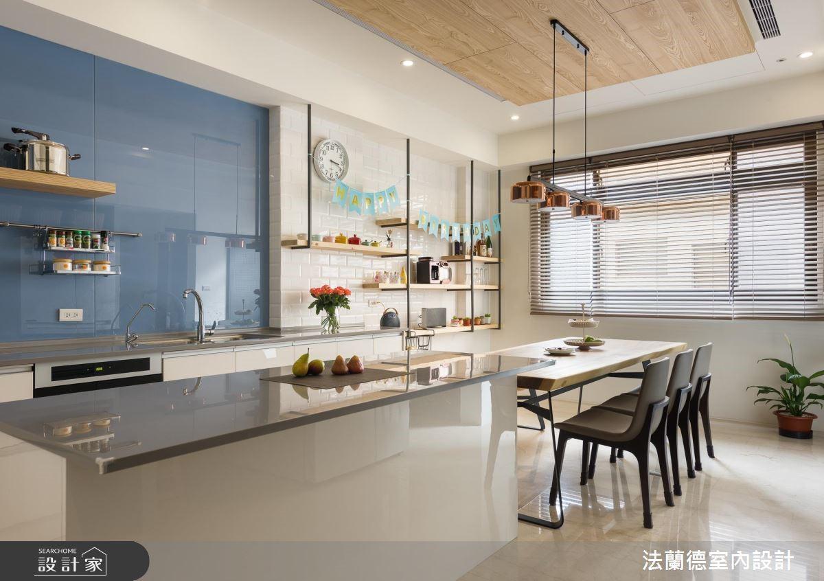 100坪新成屋(5年以下)_混搭風餐廳案例圖片_法蘭德室內設計_法蘭德_39之2