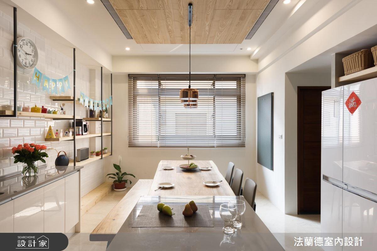 100坪新成屋(5年以下)_混搭風餐廳案例圖片_法蘭德室內設計_法蘭德_39之5