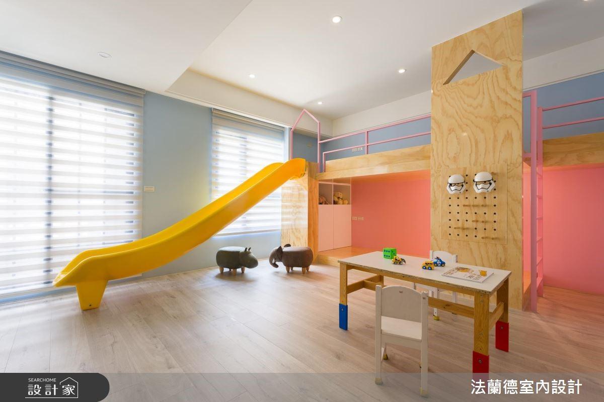 100坪新成屋(5年以下)_混搭風兒童房兒童房案例圖片_法蘭德室內設計_法蘭德_39之8