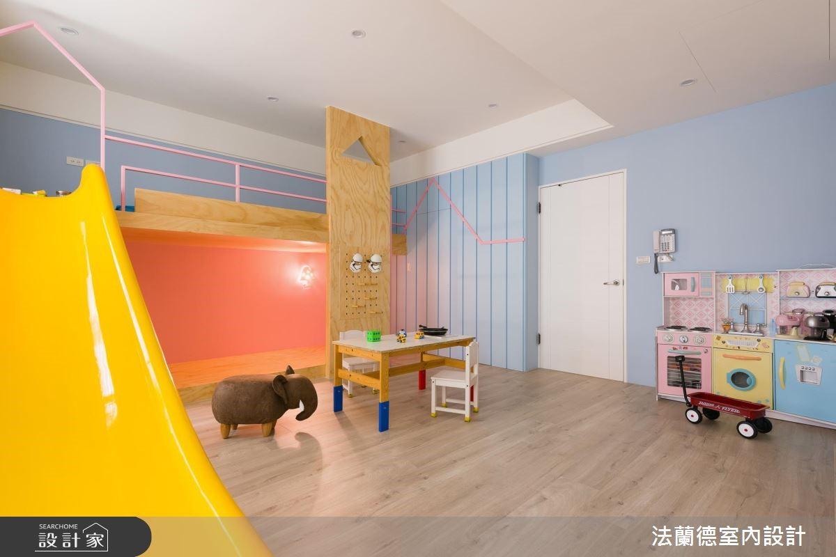 100坪新成屋(5年以下)_混搭風兒童房兒童房案例圖片_法蘭德室內設計_法蘭德_39之6