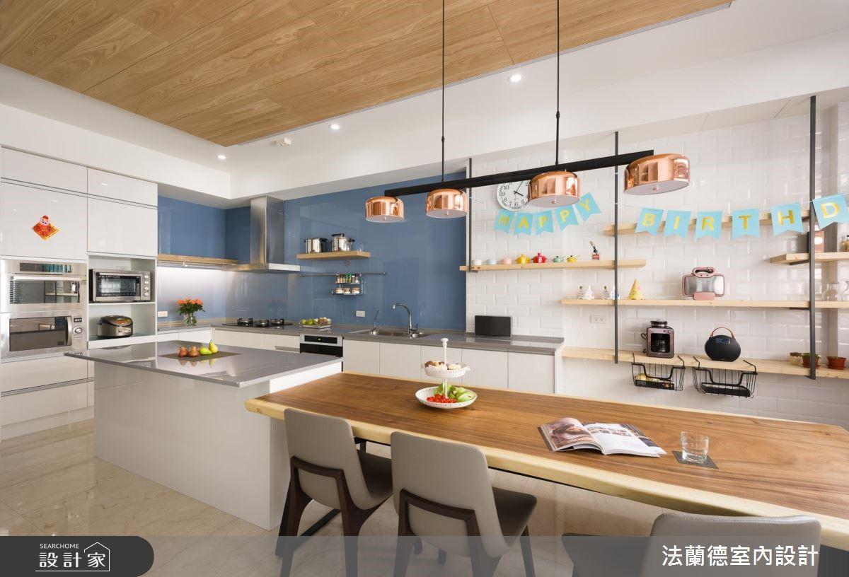 100坪新成屋(5年以下)_混搭風餐廳案例圖片_法蘭德室內設計_法蘭德_39之3