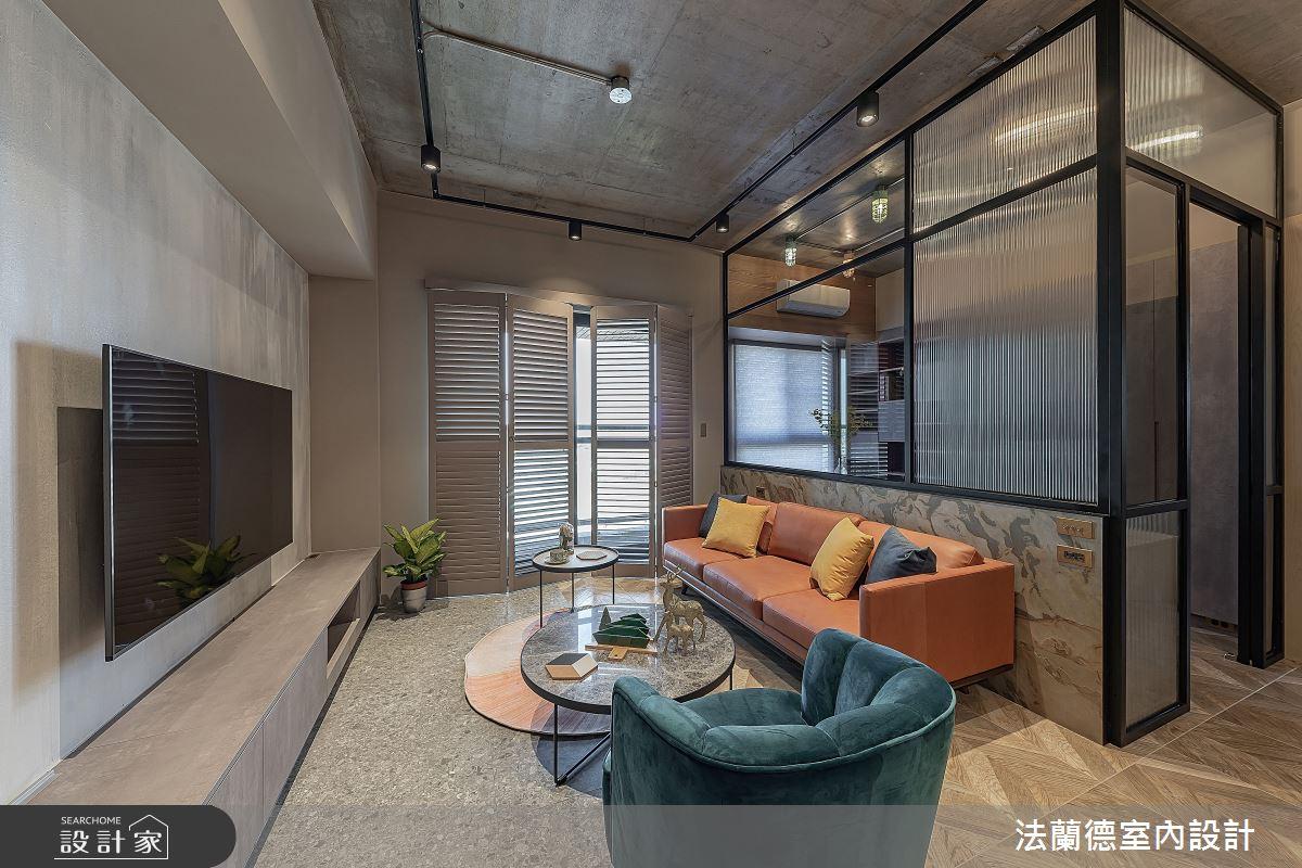 30坪預售屋_混搭風客廳案例圖片_法蘭德室內設計_法蘭德_42之6