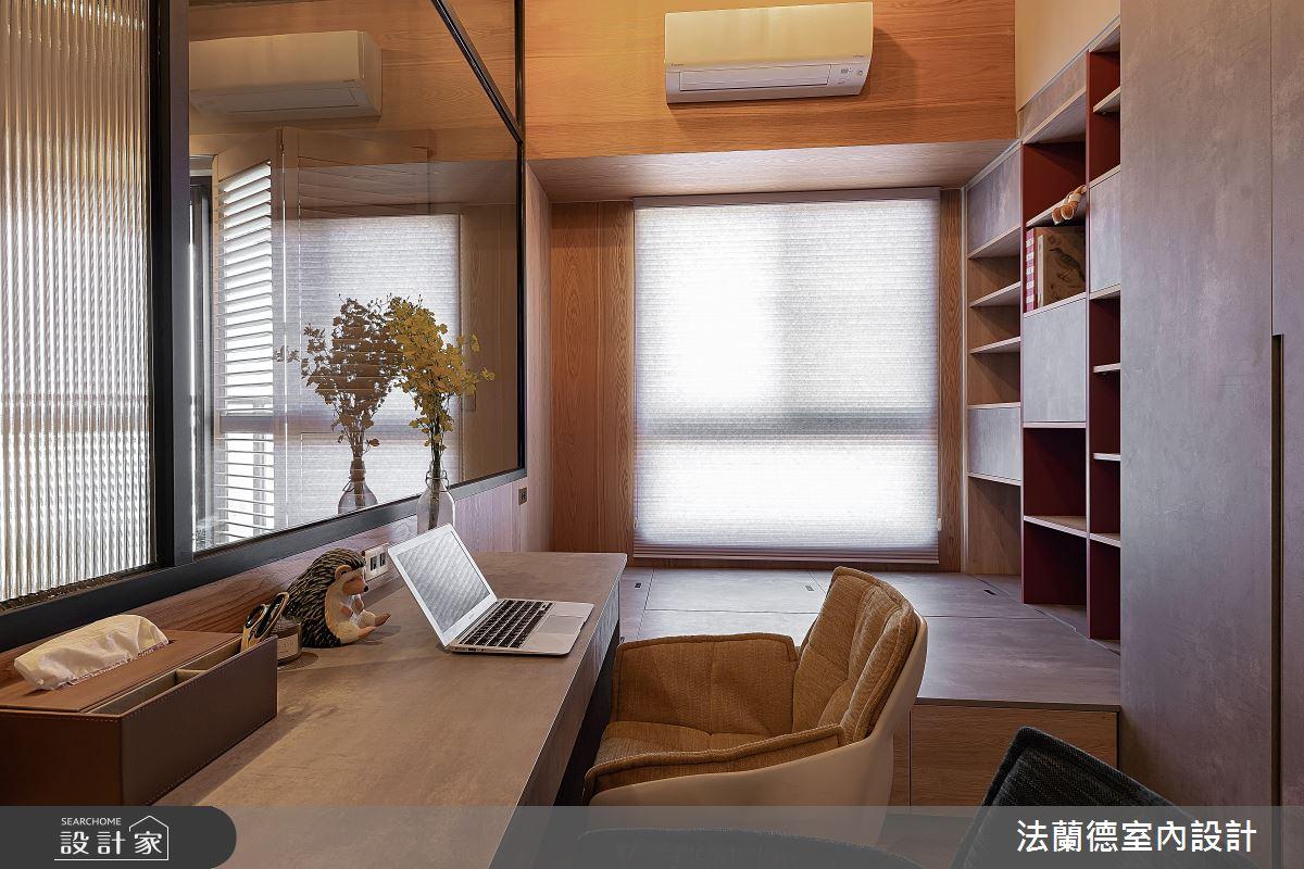 30坪預售屋_混搭風書房案例圖片_法蘭德室內設計_法蘭德_42之9