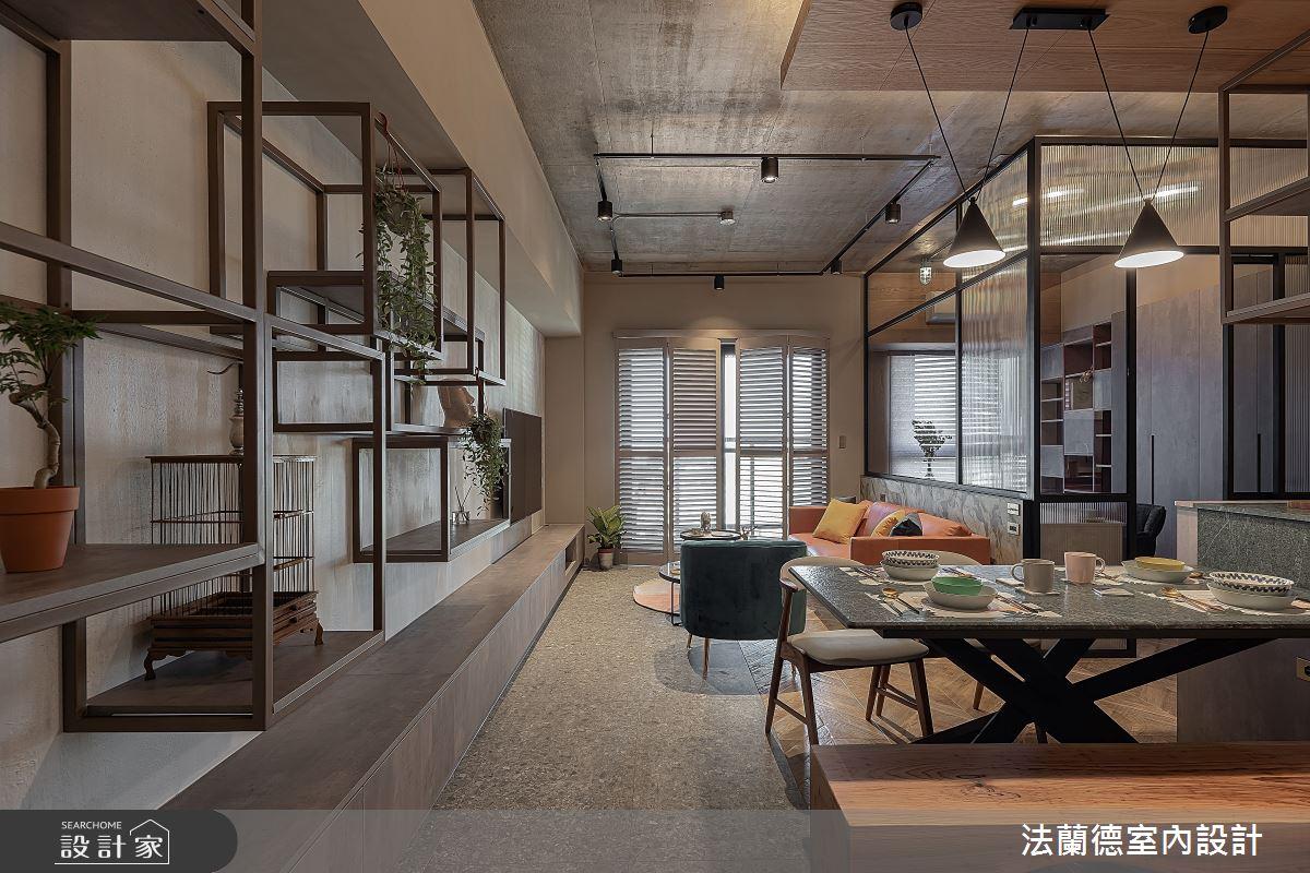 30坪預售屋_混搭風餐廳案例圖片_法蘭德室內設計_法蘭德_42之2