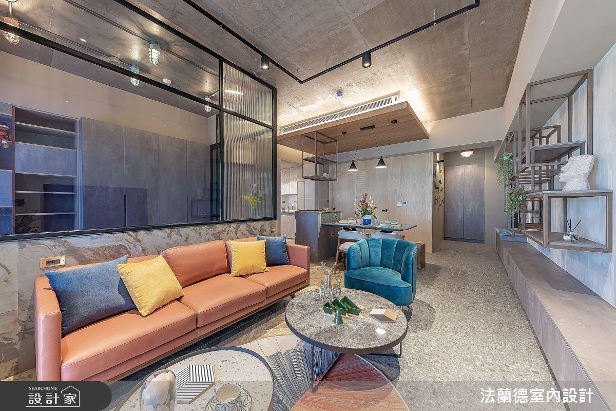 30坪預售屋_混搭風客廳案例圖片_法蘭德室內設計_法蘭德_42之8