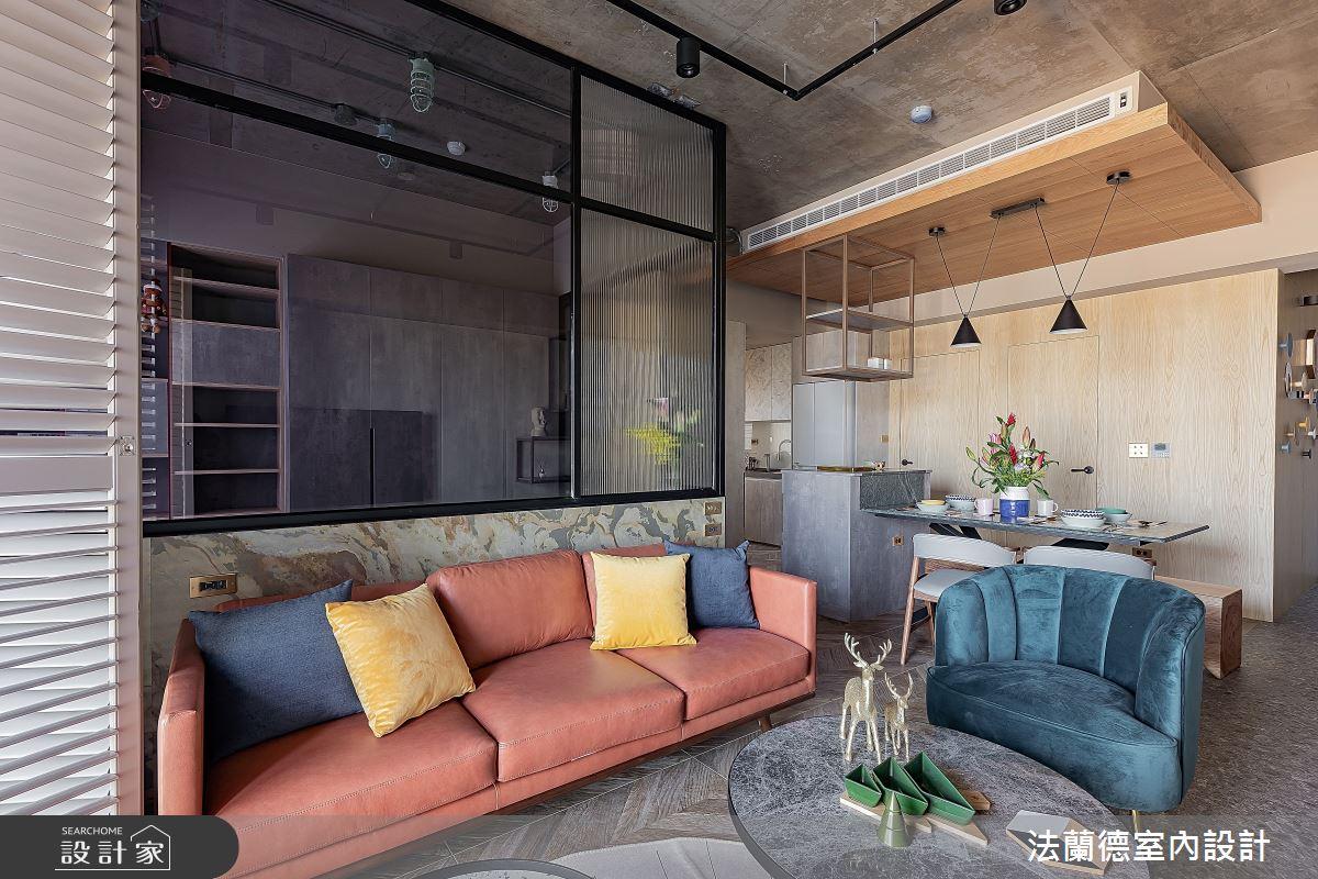 30坪預售屋_混搭風客廳案例圖片_法蘭德室內設計_法蘭德_42之7
