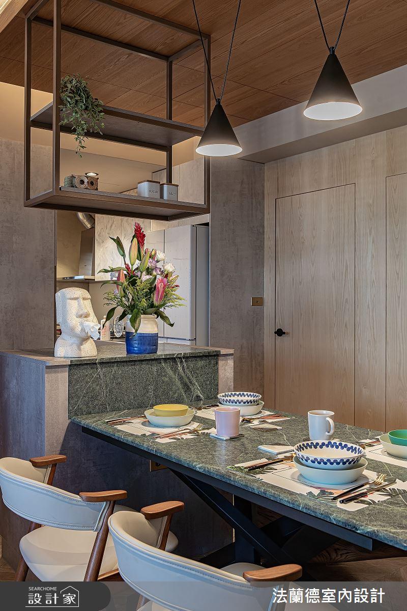 30坪預售屋_混搭風餐廳案例圖片_法蘭德室內設計_法蘭德_42之5