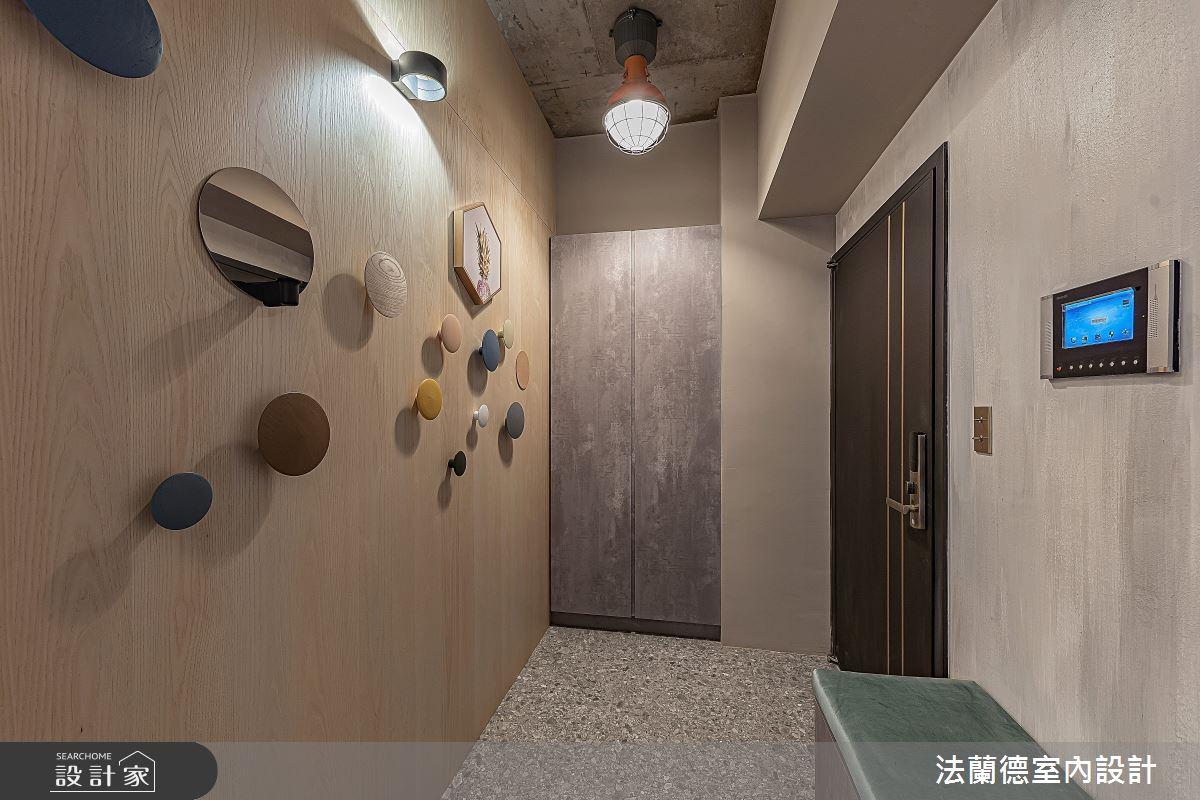 30坪預售屋_混搭風玄關案例圖片_法蘭德室內設計_法蘭德_42之1