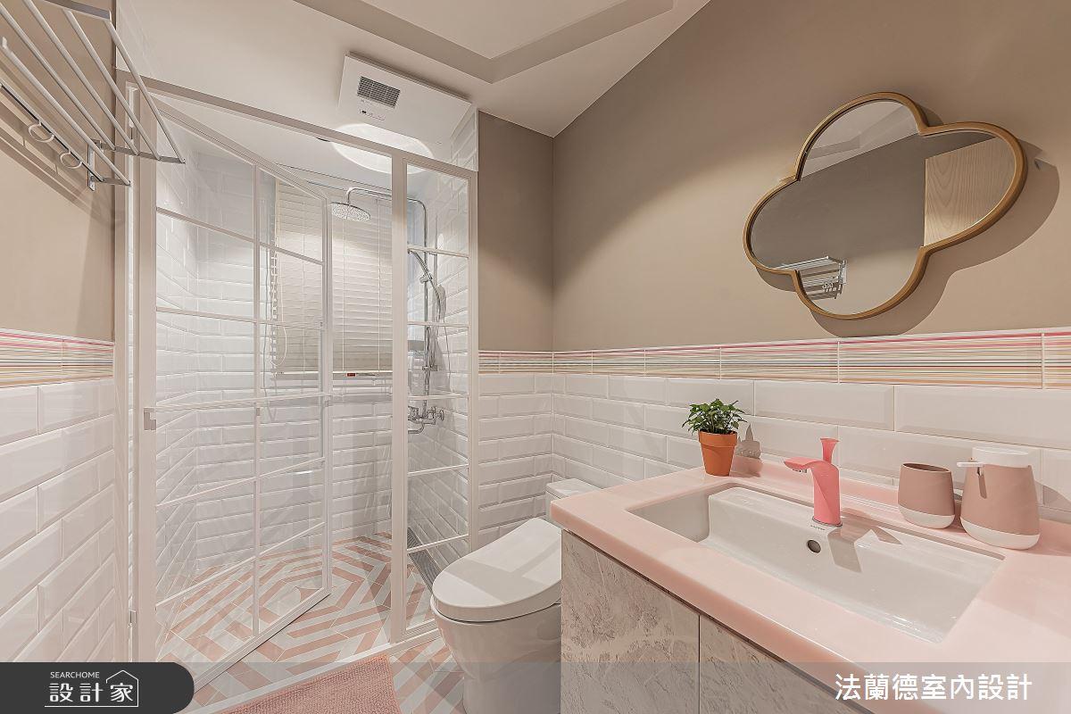 30坪預售屋_混搭風浴室案例圖片_法蘭德室內設計_法蘭德_42之13
