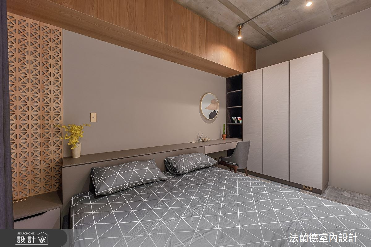 30坪預售屋_混搭風臥室案例圖片_法蘭德室內設計_法蘭德_42之11