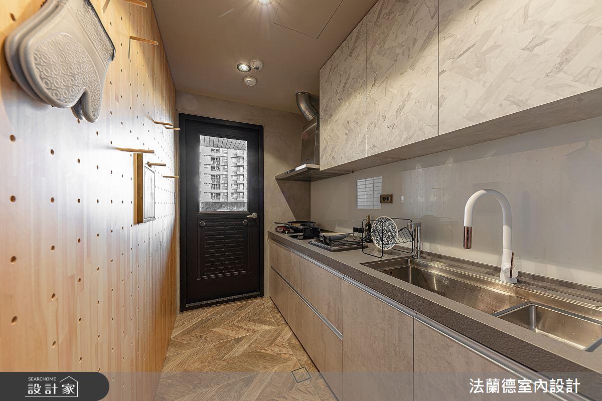 30坪預售屋_混搭風廚房案例圖片_法蘭德室內設計_法蘭德_42之10
