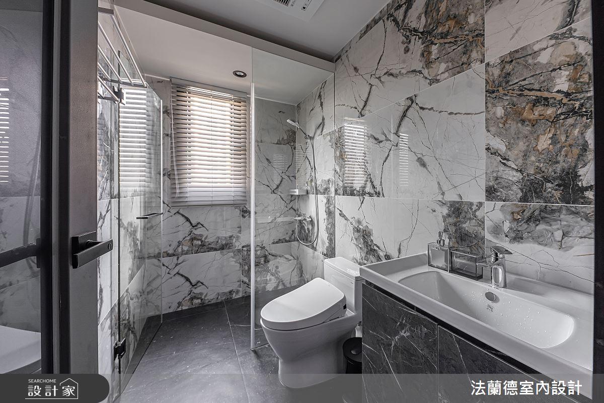 30坪預售屋_混搭風浴室案例圖片_法蘭德室內設計_法蘭德_42之14