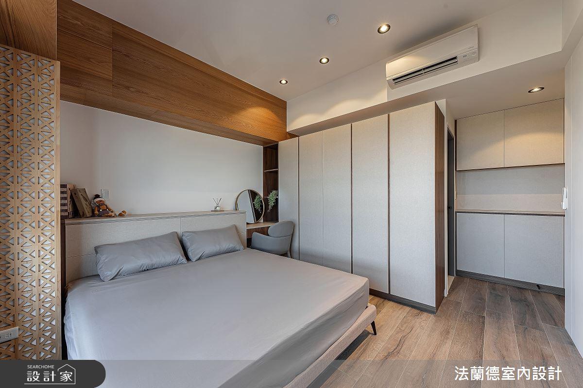30坪預售屋_混搭風臥室案例圖片_法蘭德室內設計_法蘭德_42之12