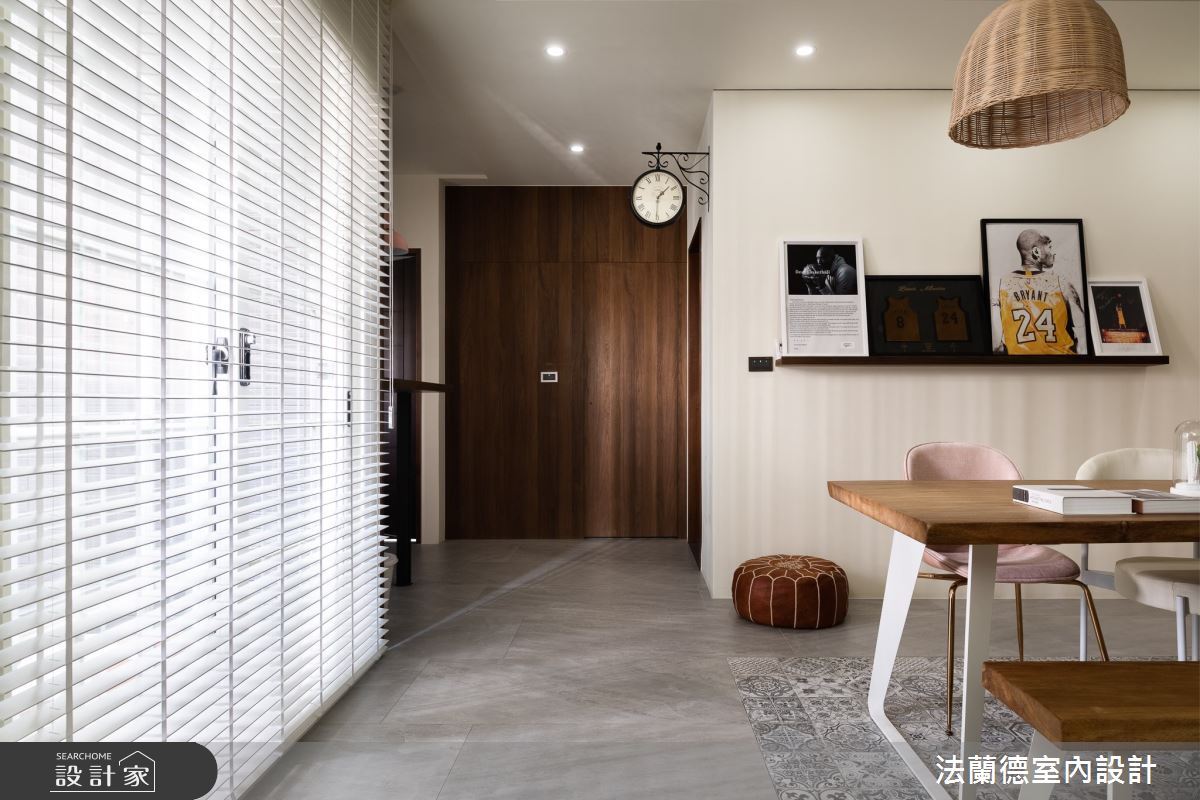 30坪新成屋(5年以下)_渡假風餐廳案例圖片_法蘭德室內設計_法蘭德_45之2