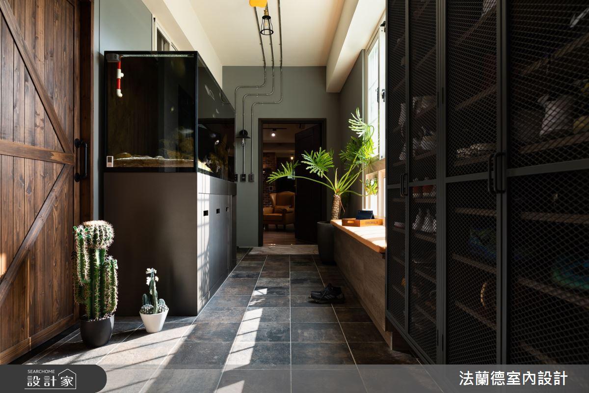 30坪新成屋(5年以下)_渡假風玄關案例圖片_法蘭德室內設計_法蘭德_45之1