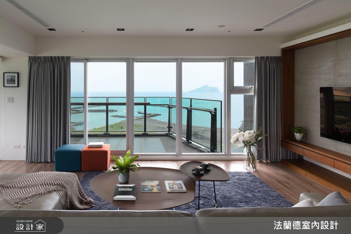 74坪新成屋(5年以下)_現代風客廳案例圖片_法蘭德室內設計_法蘭德_48之4