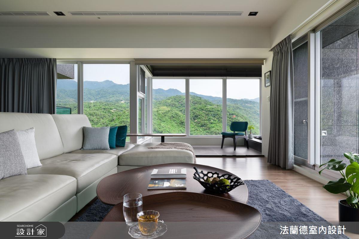 74坪新成屋(5年以下)_現代風客廳案例圖片_法蘭德室內設計_法蘭德_48之3