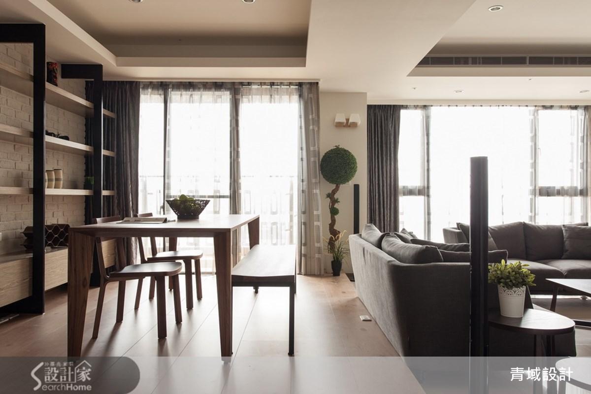55坪新成屋(5年以下)_北歐風餐廳案例圖片_青域設計有限公司_青域_01之6