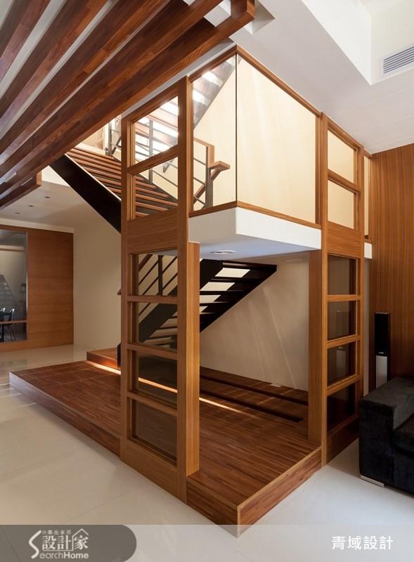 105坪老屋(16~30年)_現代風樓梯案例圖片_青域設計有限公司_青域_02之3