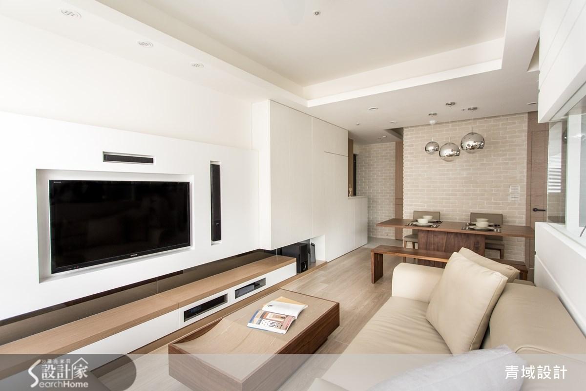 25坪新成屋(5年以下)_休閒風餐廳案例圖片_青域設計有限公司_青域_03之4