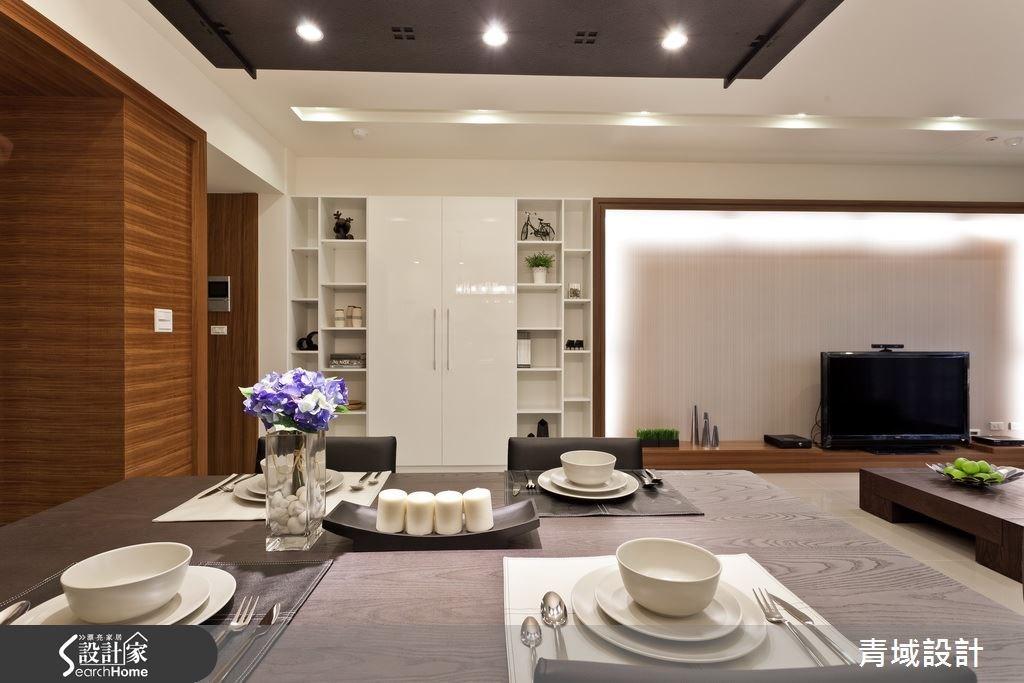 35坪新成屋(5年以下)_現代風餐廳案例圖片_青域設計有限公司_青域_08之4