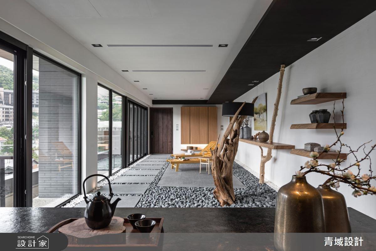 40坪新成屋(5年以下)_人文禪風案例圖片_青域設計有限公司_青域_16之8